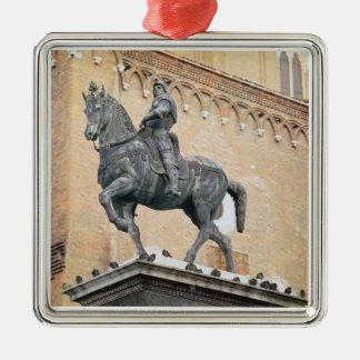 Equestrian Monument of Bartolommeo Colleoni (1400- Christmas Ornament