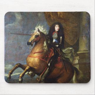 Equestrian Portrait of Louis XIV  c.1668 Mouse Pad