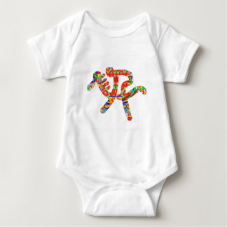 Equestrian : Sports Game Exercise Baby Bodysuit