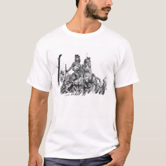 Equestrian statue of Louis XIV T-Shirt