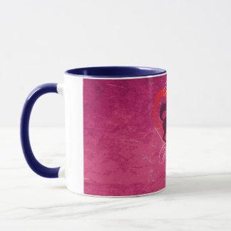 Equine Valentine Ringer Mug