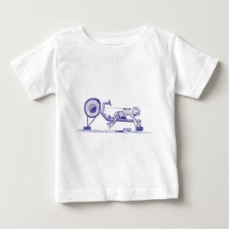 Ergometer sketch baby T-Shirt