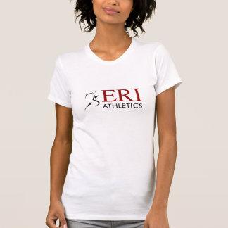 ERI Athletics - White Short Sleeve w/Slogan Tee Shirts