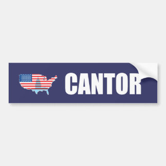 ERIC CANTOR Election Gear Bumper Stickers