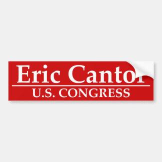 Eric Cantor U.S. Congress Bumper Sticker
