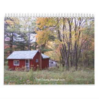 Erie County, Pennsylvania Wall Calendar