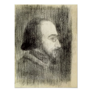 Erik Satie  c.1886 Poster
