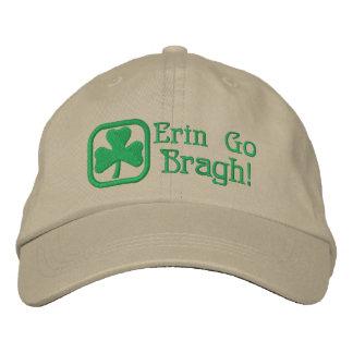 Erin Go Bragh! Embroidered Baseball Cap
