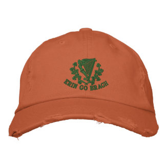 Erin Go Bragh Embroidered Hat