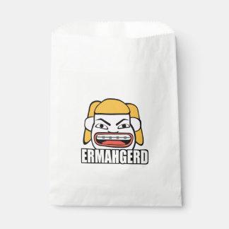 Ermahgerd Favour Bags