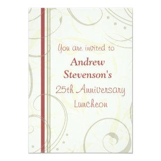 Ermployee Anniversary Luncheon Invitations