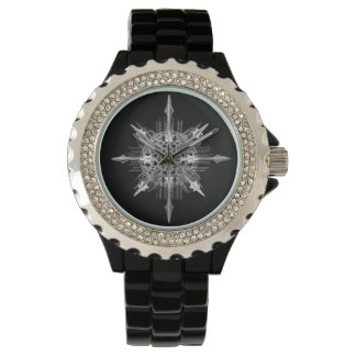 ERNST HAECKEL: Acanthophracta Womens Enamel Watch