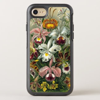 Ernst Haeckel Orchids, Vintage Rainforest Flowers OtterBox Symmetry iPhone 8/7 Case
