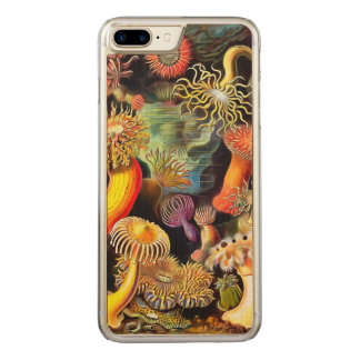 Ernst Haeckel Sea Anemones Vintage Art Carved iPhone 8 Plus/7 Plus Case