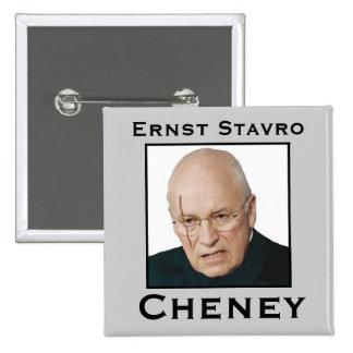 Ernst Stavro Cheney 15 Cm Square Badge