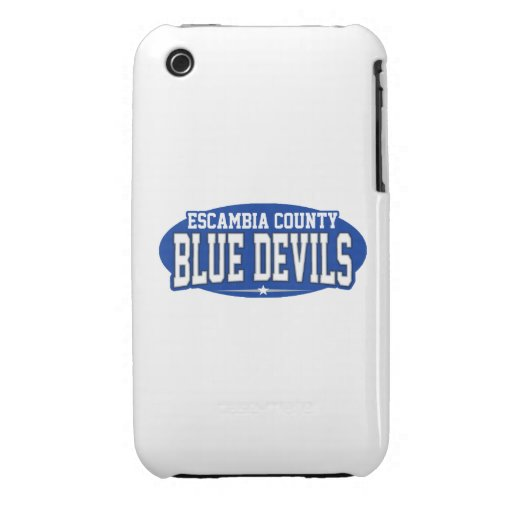 Escambia County; Blue Devils iPhone 3 Covers