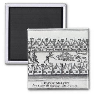 Escheape Market Square Magnet