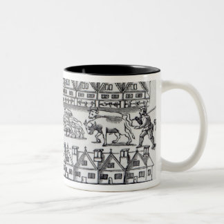 Escheape Market Two-Tone Coffee Mug