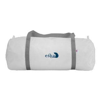Eska White Gym Duffel Bag
