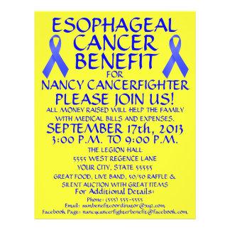 Esophageal Cancer Benefit Flyer