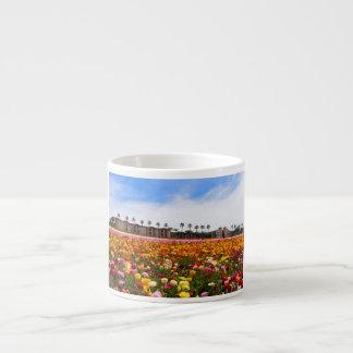 Espresso Mug Flower Fields