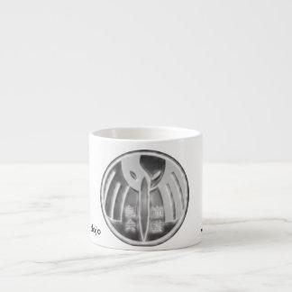 Espresso Mug With martial arts  symbol