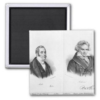 Esprit Auber  and Ludwig van Beethoven Magnet