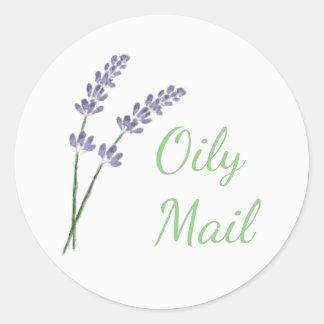 Essential oil envelope seal