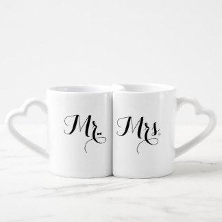 Est 2015 Mr and Mrs Mugs Couples Mug