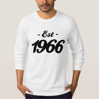 established 1966 - birthday T-Shirt