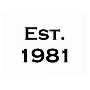 780dadeed3 Established 1981 Gifts on Zazzle NZ