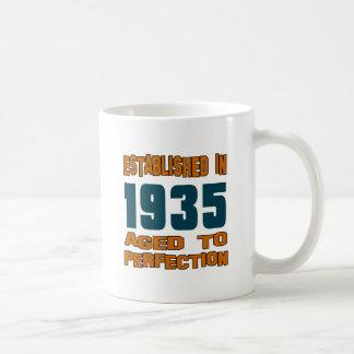 Established In 1935 Basic White Mug