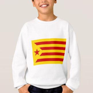 Estelada Roja - Bandera independentista Catalana Sweatshirt