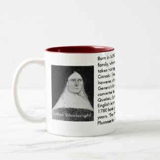 Esther Wheelwright mug