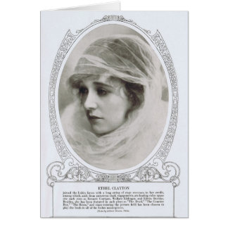 Ethel Clayton 1914 Card