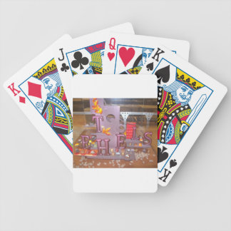 Ethels Chocolate Bicycle Playing Cards
