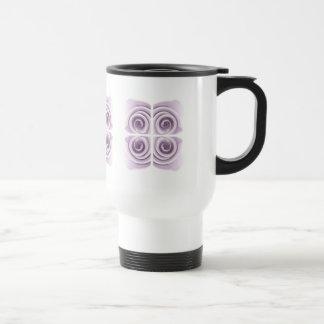 Ethereal Lilac Rose Abstract Swirls Mug