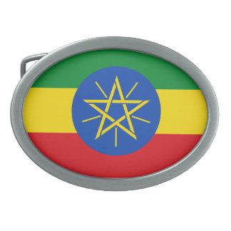 Ethiopia Flag Belt Buckle