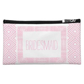 Ethnic Boho Will you be my Bridesmaid 1 Makeup Bag