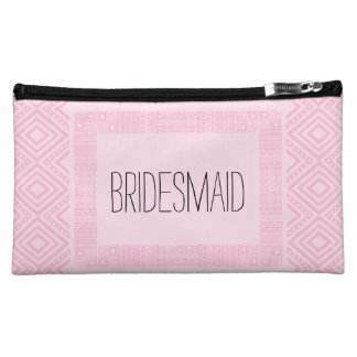 Ethnic Boho Will you be my Bridesmaid 2 Makeup Bag
