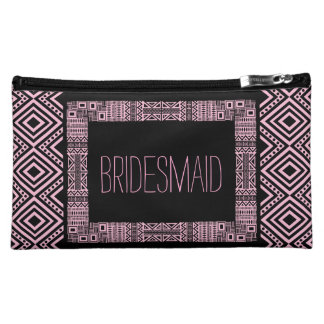 Ethnic Boho Will you be my Bridesmaid Gift 3 Cosmetic Bags