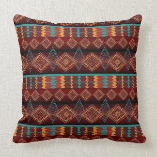 ethnic navajo seamless pattern cushion