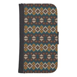ethnic pattern samsung s4 wallet case