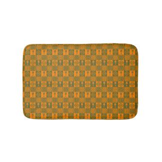 ethnic tribal african pattern bath mat