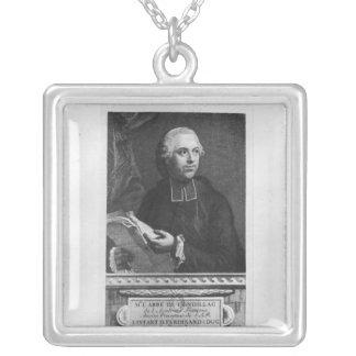 Etienne Bonnot de Condillac Silver Plated Necklace