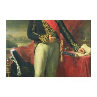 Etienne-Jacques-Joseph-Alexandre Macdonald Canvas Print