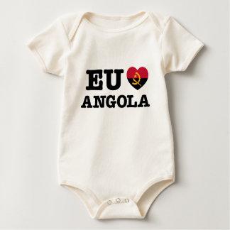 Eu Amo Angola Baby Bodysuit