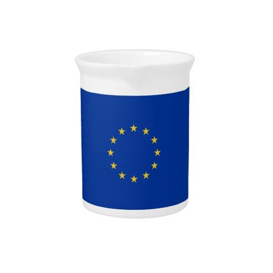EU Flag Pitcher