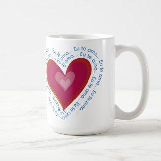 Eu te Amo Valentine's Day Mug