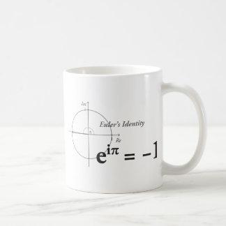 Euler's Identity Math Formula Mugs